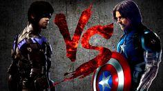 НАЙТВИНГ против БАКИ-КЭПА   NIGHTWING vs BUCKY-CAP [CT Fight Club   DC  ...