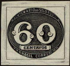 Centenary of brasilian stamps