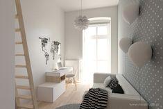 Scandinavian style nursery/kids room by mirai studio scandinavian Girl Room, My Room, House Inside, Teen Bedroom, Custom Furniture, Wall Colors, Home Projects, Studio, House Design
