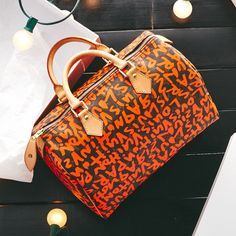 A special collection Louis Vuitton bag. Just for you.