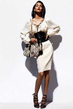 Tom Ford Pre-Spring 2012   Dress inspired by the #RomanianBlouse #Romania