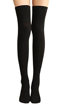 80afe4147 AM Landen Ladies Cotton Thigh-Highs Socks (US Size Narrow