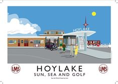 Hoylake Station, LMS