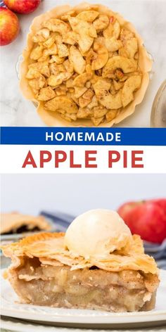 Did you know making a homemade apple pie is actually quit simple? Here is the perfect easy recipe for all your fall, handpicked apples! American Apple Pie, Family Fresh Meals, Family Recipes, Apple Hand Pies, American Desserts, Homemade Apple Pies, Unique Desserts, Apple Recipes, Easy Recipes