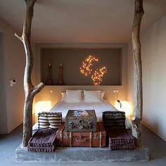 Slaapkamer warm.