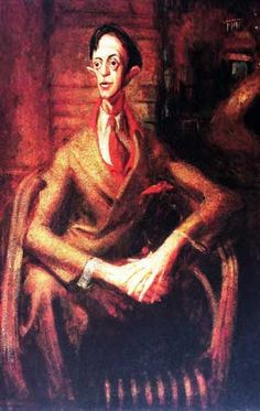 William Dobell's 1943 Archibald  Prize winning portrait of Joshua Smith