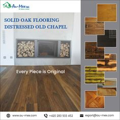 Get reliability, stability and strength to your wooden floor with Solid Oak Flooring Distressed Old Chapel Oak Flooring, Wooden Flooring, Solid Oak, Stability, Plank, Strength, The Originals, Products, Oak Wood Flooring