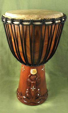 Djembe... I would be playing on this all day long!