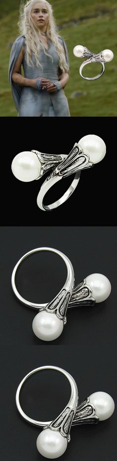 Game of Thrones Silver Rings! Click The Image To Buy It Now or Tag Someone You Want To Buy This For. #GameOfThrones