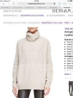 Bergdorf --the Row