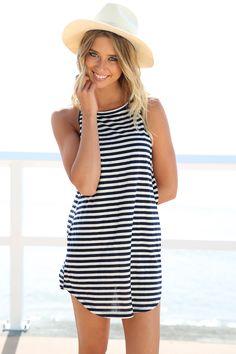 Vera Stripe Dress | SABO SKIRT
