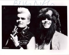 'Electric' press photo with Billy and Ian. A rare photo of Ian Astbury smiling. He hardly ever smiles.