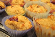 coconut cranberry muffins!!!
