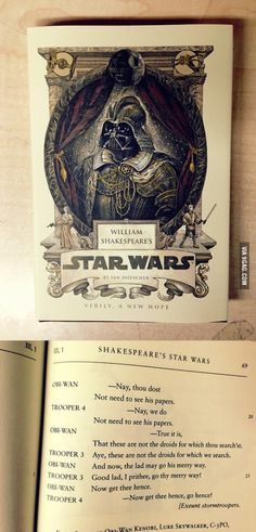Shakespeare's Star Wars. This is a real thing.