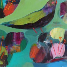 becky blair * artist - paintings: jungle dreams