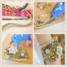 Luxury bracelet DIY, inspired by Doloris Petunia