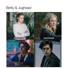Bughead ❤ I like them on the South side #Riverdale
