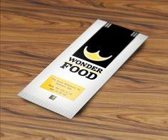Cutlery. Customer: Wonder Food. Graphic designer: Domenico Tafuro.