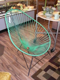 "The ""Acapulco"" Chair! Sooooo Fifties! — at Retro Kalamazoo."