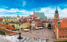 The Ultimate Eastern Europe Travel Guide The Ultimate Eastern Europe Travel Guide> Fewer travelers head east – that's why you should.Head East from Germany, and you'll find that you Cheap City Breaks, Warsaw Old Town, Warsaw Poland, New Airline, Old Town Square, Domestic Flights, Europe Travel Guide, Europe Destinations, Eastern Europe