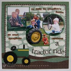 Spellbinders Paper Arts - Idea Gallery - View Project - Tractor Ride