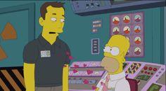 Elon Musk On The Simpsons