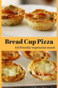 we all make pizzas at home so what is special about these bread cup pizza. Kids like recipes which tickle all their senses. Breakfast Pizza, Best Breakfast, Breakfast Recipes, Snack Recipes, Cooking Recipes, Pizza Recipes, Easy Recipes, Sandwich Recipes, Drink Recipes