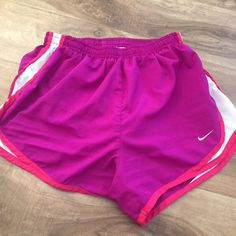 Pink & Purple Nike Shorts Color is true to picture! Nike Shorts