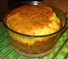 Hansel og Gretel....veien bort fra pepperkakehuset: Ostesufflè. Pie, Pudding, Desserts, Food, Torte, Cake, Meal, Fruit Pie, Custard Pudding