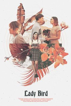 Lady Bird Poster • Alternative Movie Poster • Retro-Vintage Movie Poster • Retro Style Graphic Artsy Movie Poster Wall Art • Gifts for Her by NoomCo on Etsy https://www.etsy.com/listing/565310016/lady-bird-poster-alternative-movie