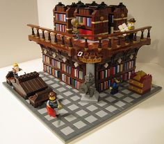 LEGO SET Castle knight library