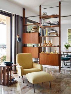 Mid century #furniture #room #InteriorDesign #indoors #table #contemporary #chair #seat