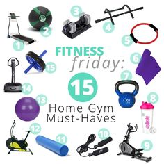 63 Trendy Home Gym Equipment Products Workout Rooms Gym Room At Home, Workout Room Home, Home Gym Decor, Workout Rooms, At Home Workouts, Workout Room Decor, Basement Gym, Garage Gym, Modern Basement