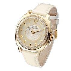 COACH コーチ 腕時計 レディース 腕時計 14501364 【並行輸入品】 Fashion Watches, Women's Fashion, Gucci Watch, Bling, Style Inspiration, My Style, Leather, Accessories, Clocks