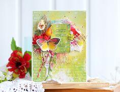 Блог Scrapberry's: Задание 43: открытка с ягодами или фруктами