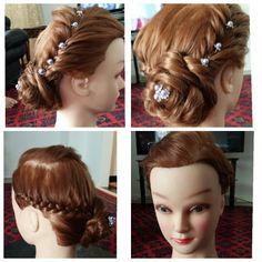 Prom, wedding hair styles