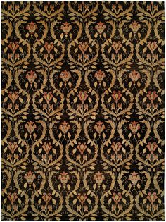 Made to thrive in both modern and transitional settings, the Laurel transitional designer rug features a breath taking damask design. Hand knotted in India from premium wool, this gorgeous rug will add life, depth and style to any area. http://www.cyrusrugs.com/cyrus-artisan-item-6888&category_id=0