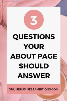 How to Write an Effective About Page - Online Business Ambitions Business Website, Business Tips, Online Business, Creative Business, Website Design Inspiration, Internet Marketing, Online Marketing, Content Marketing