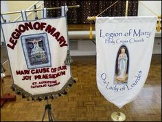 Legion of Mary banners