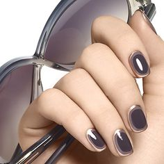ring around it by essie - create edgy elegance instantly with a bold nail art look in sensuous muted tones finished with a pop of copper metallic.