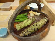 Sushi Zen; Fresh Wasabi