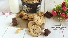 Cookies americani senza glutine, latticini, zucchero e lievito