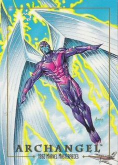 Marvel Masterpieces Series 1 1992 [Marvel- Skybox] Card Set, Issue #0008a.