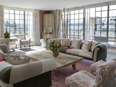 Terrace Suite At The Soho Hotel London Firmdale Hotels