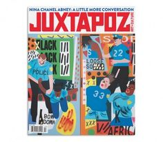 NEW ISSUE JUXTAPOZ JULY 2016 PRINT ARRIVED 10.6.16