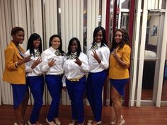 Edward Waters College Delta Upsilon Chapter of Sigma Gamma Rho Sorority, Inc. Spr. 14