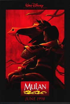 Disney's Mulan This right here is probably the main reason I went to see Mulan in theaters. Certainly isn't expected of a Disney movie poster