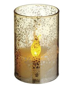 Take a look at this Gold 3.5'' LED Candle by Allstate Floral & Craft on #zulily today! $14 !!