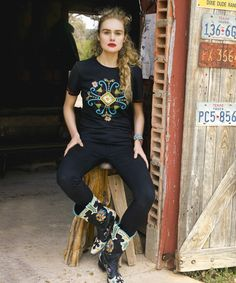 Mississippi Girl Tee - Tops - Double D Ranch
