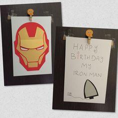 Ironman birthday card